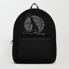 Basketball Player (monochrome) Backpack