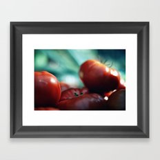 Pomodori Framed Art Print