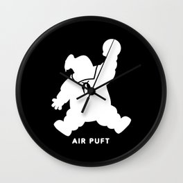 Air Puft: Stay Puft Marshmallow Man - Inverted Wall Clock