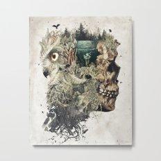 Forest Lake Dreams Metal Print