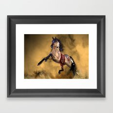 HORSE - Dreamweaver Framed Art Print