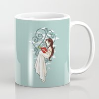 fairy tale Mugs featuring Fairy Tale by Freeminds