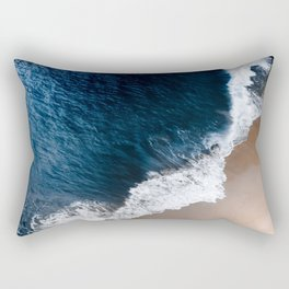 Bali waves #society6 #buyart #decor Rectangular Pillow