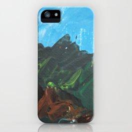 Italian Hill Side iPhone Case