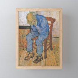 Vincent van Gogh - Sorrowing Old Man (At Eternity's Gate) Framed Mini Art Print