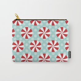 Pinwheels (Red) Carry-All Pouch