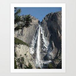 Bridalveil Fall at Yosemite National Park Art Print