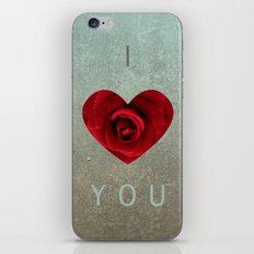 ily iPhone & iPod Skin