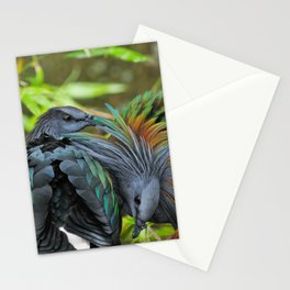 Nicobar Pigeon Stationery Cards
