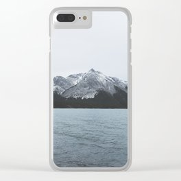 Banff Mountain Clear iPhone Case