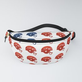 American Football Flag Fanny Pack