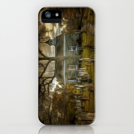 The Haunted Church iPhone Case
