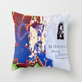Constructive Criticism Throw Pillow