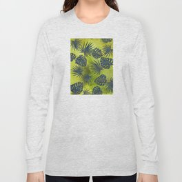 Tropical Leaves Pattern 2 Long Sleeve T-shirt