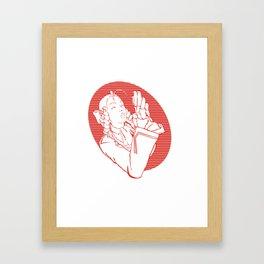 SFV KARIN Framed Art Print