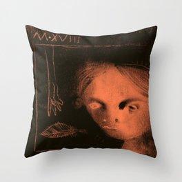 Winters Hymn: Part 119, Digital Drawing Throw Pillow