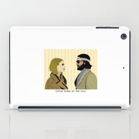 royal tenenbaums iPad Cases featuring The royal Tenenbaums by Little cabin on the hill