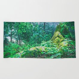 The Nature's green Beach Towel
