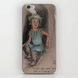 The Little Dryad iPhone Skin