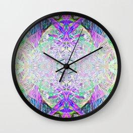 Crystal Dimension Codes Wall Clock