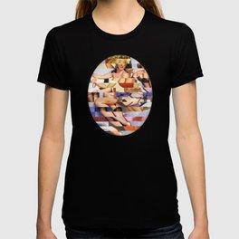 Glitch Pin-Up Redux: Taylor & Tiffany T-shirt