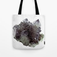 mineral Tote Bags featuring Mineral by .eg.
