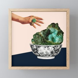 GEODE Framed Mini Art Print