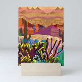 High on a Mountain Top Mini Art Print