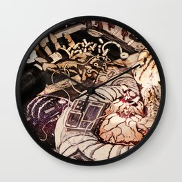 """""""What's Your Vice?"""" Wall Clock"""