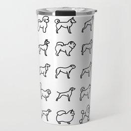 CUTE DOGS / PUPPIES PATTERN Travel Mug