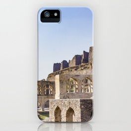 Mughal Arches Lining the Walkway up Golconda Fort in Hyderabad, India iPhone Case