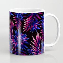 Aechmea Fasciata - Dark Blue / Purple Coffee Mug