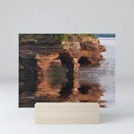 Sea Caves at Apostle Islands National Lakeshore - Wisconsin Mini Art Print