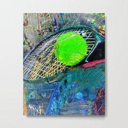 Tennis art print work 19 - tennis poster artwork print Metal Print