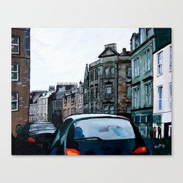 Stained Glass Stirling Canvas Print
