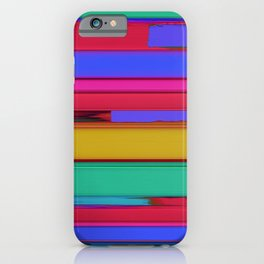 Linear echo iPhone Case