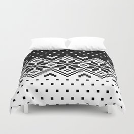 Black & White Pattern Duvet Cover