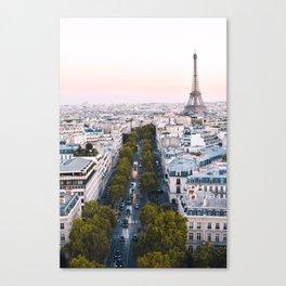 Paris City Canvas Print