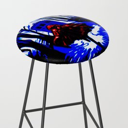 Shadow Light Of Tardis Bar Stool