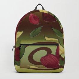 Scarlet Flora Backpack