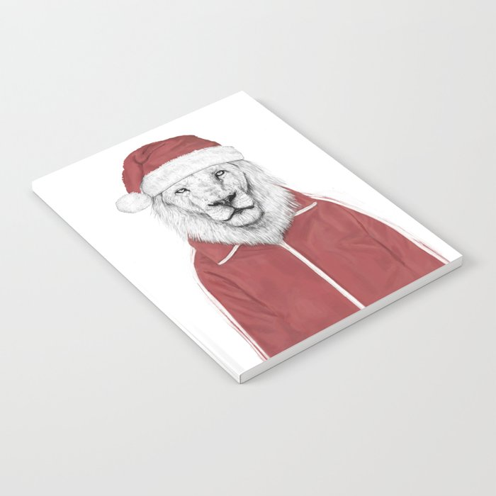 Santa lion Notebook