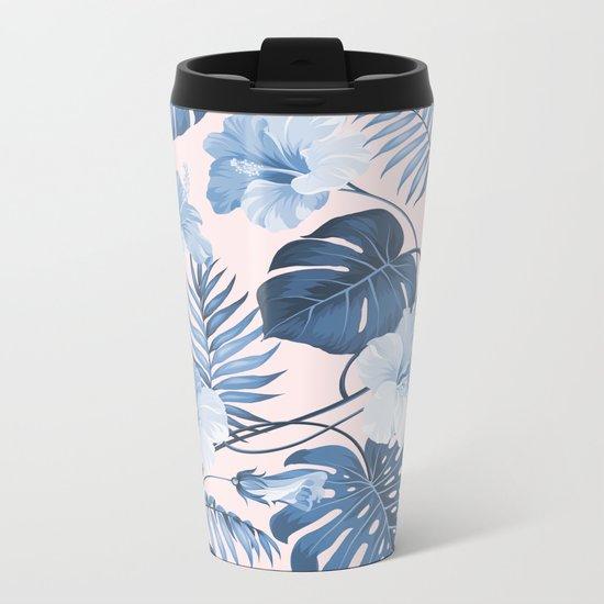 Getting Tropical Metal Travel Mug