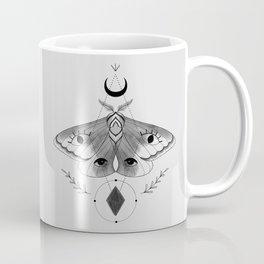 Metaphys Moth - Gray Coffee Mug