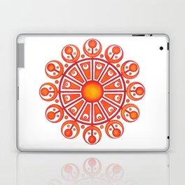 RadialDesignRed Laptop & iPad Skin