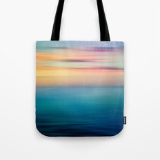 Abstract Seascape Tote Bag