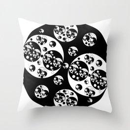 Circle Splendor 16 Throw Pillow