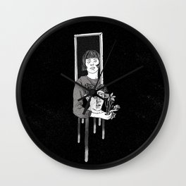 """Love is blind"" Wall Clock"