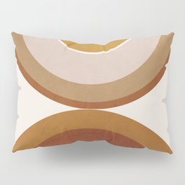 Modern Geometry Pillow Sham