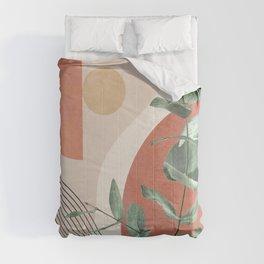 Nature Geometry IV Comforters