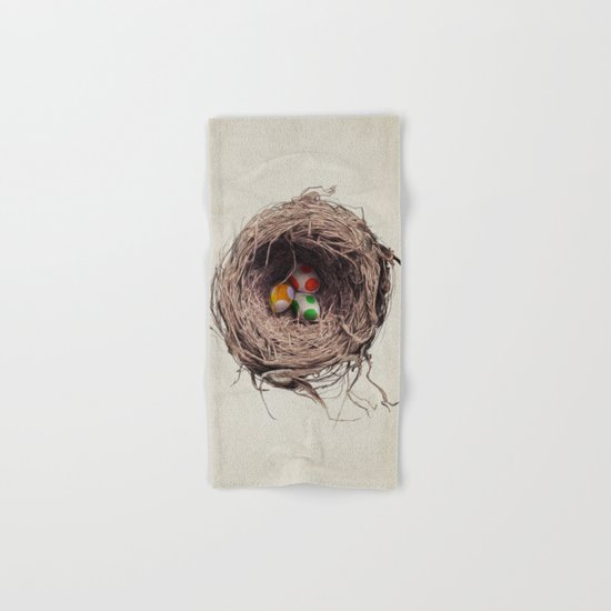 Yoshi Eggs Hand & Bath Towel